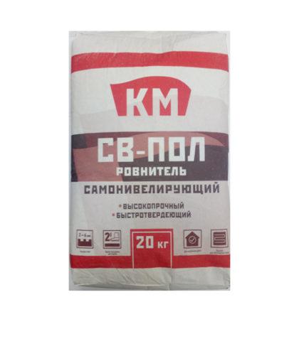 Финишный ровнитель для пола КМ СВ-пол, 20 кг