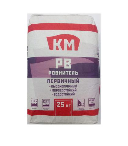 Ровнитель для пола армированный КМ РВ первичный, 25 кг