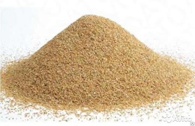 Песок кварцевый для пескоструя 0,63-2,5 мм