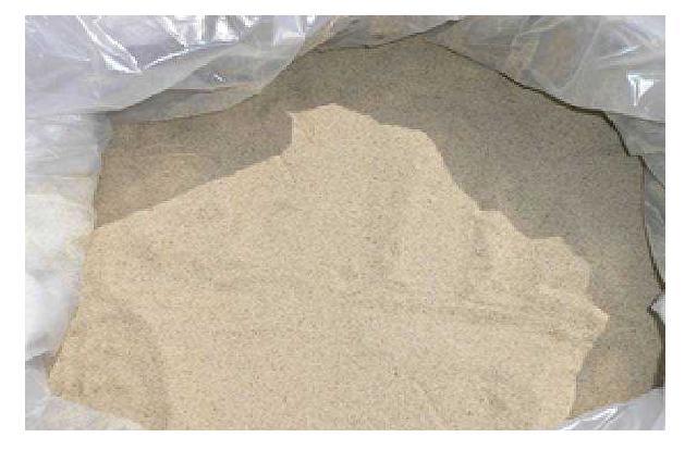Кварцевый песок белый 0-0,63 мм