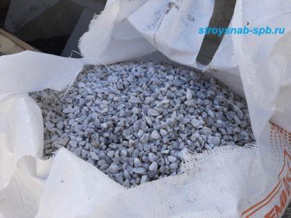 Мраморная крошка серо-голубая 10-20 мм