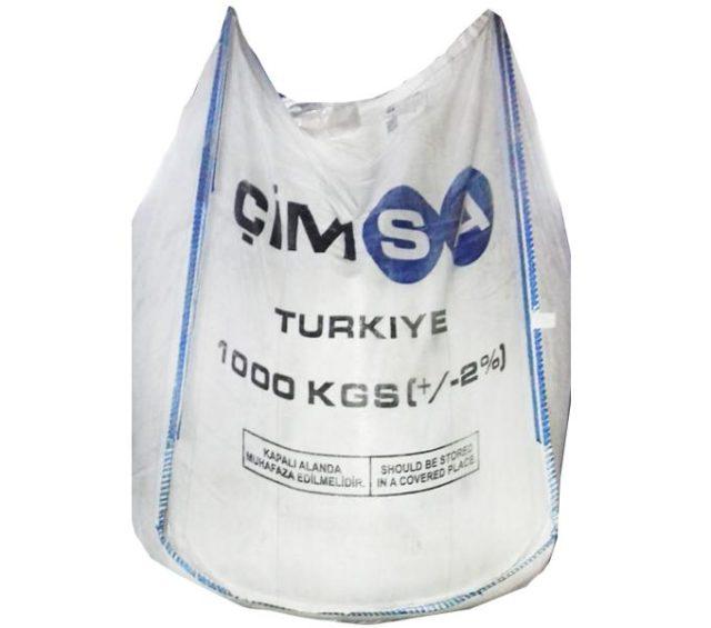 Цемент белый Cimsa в биг-беге