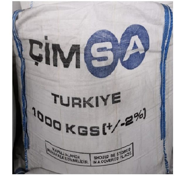 Цемент белый Cimsa CEM I 52.5 R (пр-во Турция), биг-бег 1 тонна