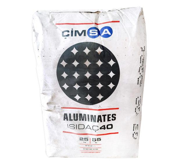 Глиноземистый цемент CIMSA ISIDAC 40